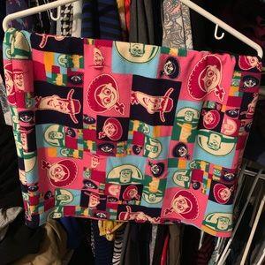 Lularoe Toy Story skirt